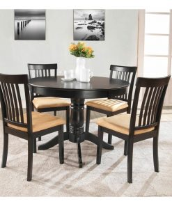 5 set 4 seater dining table and chair