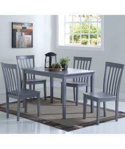 grey dining set