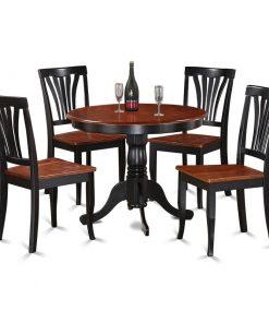 dark brown dining set